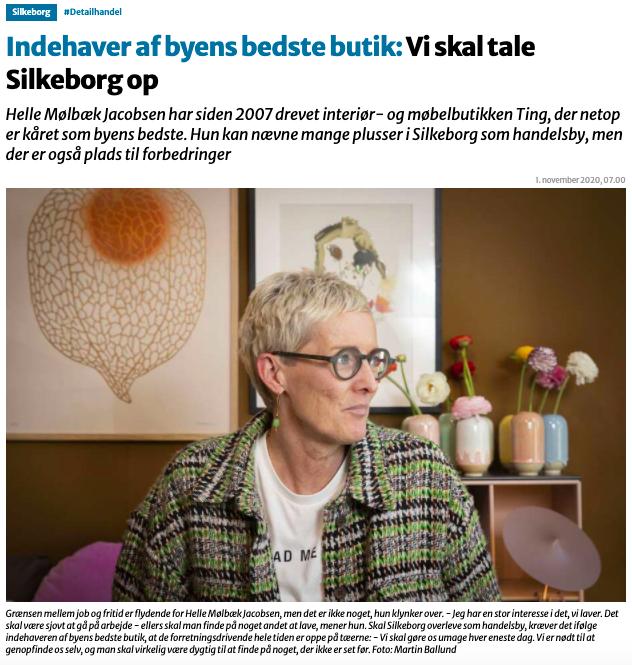Helle Mølbæk Jacobsen – Vi skal tale Silkeborg op