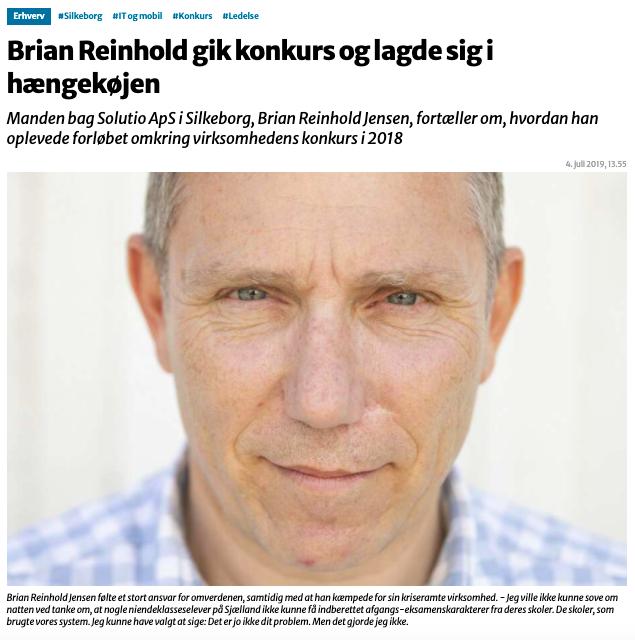 Brian Reinholds tur i hængekøjen