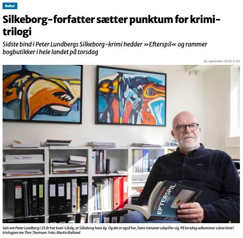 Peter Lundberg sætter punktum for trilogi